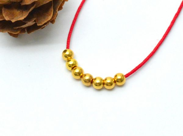 Brushed Finished Solid Gold Beads, Gold Beads, Shape Gold Beads, Handmade, 18K Solid Gold Bead, (Sold By 10 Piece)