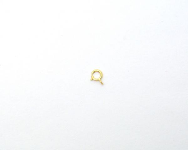 18K Handmade Solid Yellow Gold Lobster Lock in Matt Finish. 7.5X5 mm Amazingly Crafted Lobster Lock in 18k Solid Gold, Sold By 1pcs